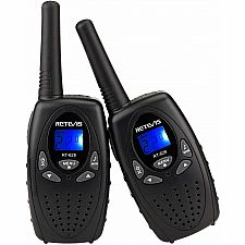 Black Walkie Talkie 2pc